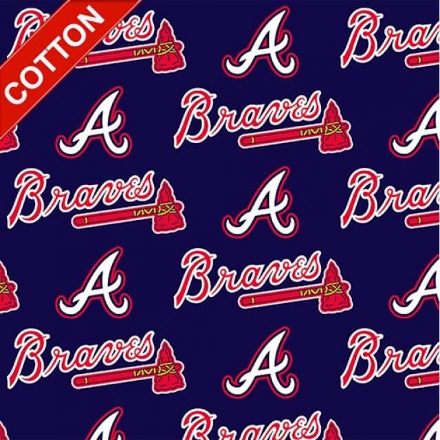 MLB Cotton Fabric - Major League Baseball Fabric By The Yard