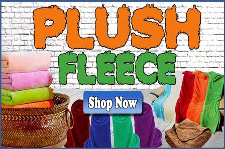 Solid Plush Fleece