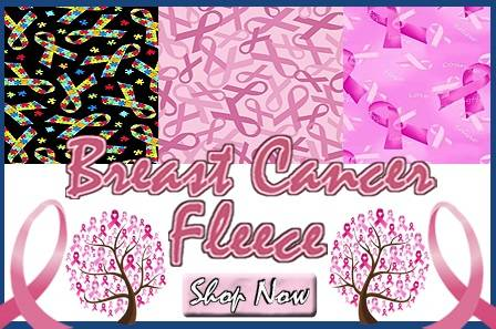 Breast Cancer Fleece