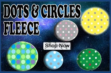 Dots & Circles Fleece
