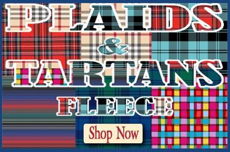 Plaids & Tartans Fleece