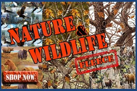 Nature & Wildlife Fleece