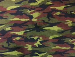 Camouflage Fleece Fabric
