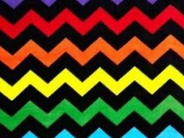 Chevron Fleece Fabric