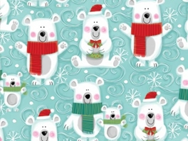 Christmas & Winter Fleece Fabric