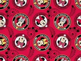 Disney & Cartoons Fleece Fabric