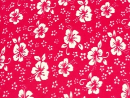 Floral & Flower Fleece Fabric