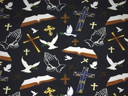 Religious & Inspirational Fleece Fabric
