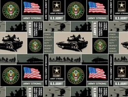 Military Fleece Fabric