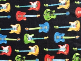 Musical Fleece Fabric
