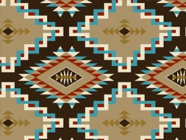 Native American & Aztec Fleece Fabric