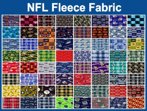 NFL Fleece Fabric