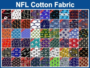 NFL Cotton Fabric