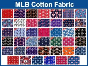 MLB Cotton Fabric