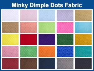 Cuddle Dimple Dots Fabric