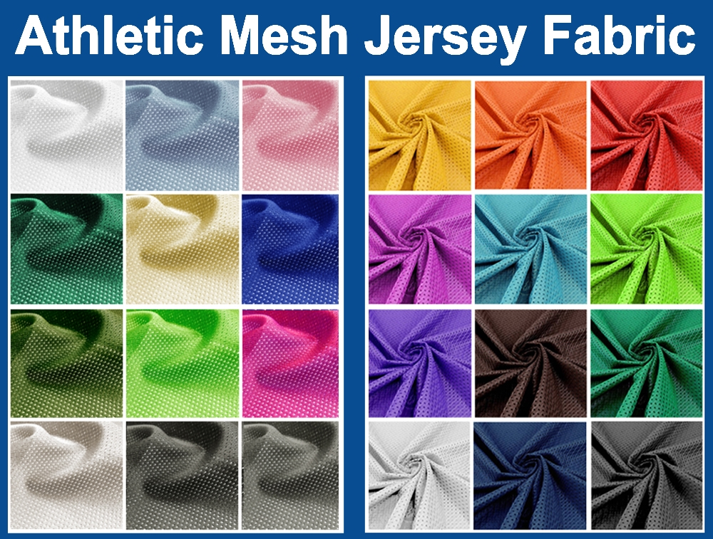 Athletic Mesh Jersey Fabric