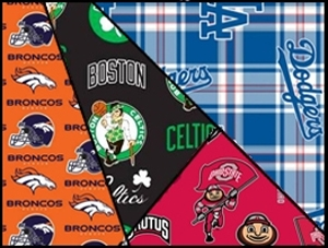 Pro Sports Team Fabric