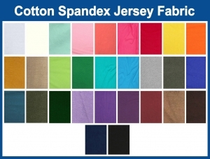 Cotton Spandex Jersey Fabric