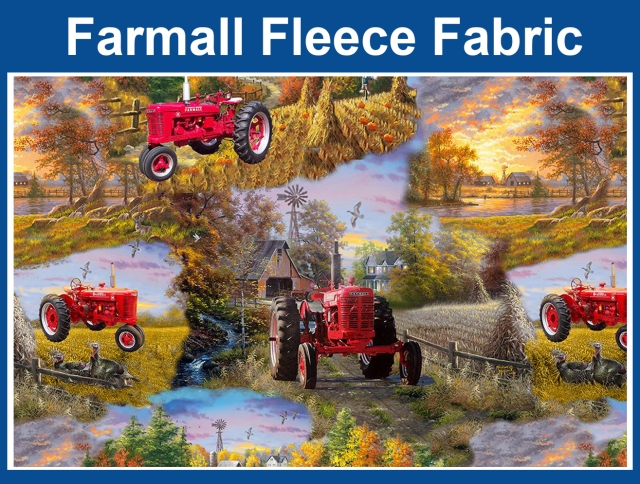 Farmall Fleece Fabric
