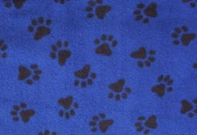 Royal Paws Prints Fleece