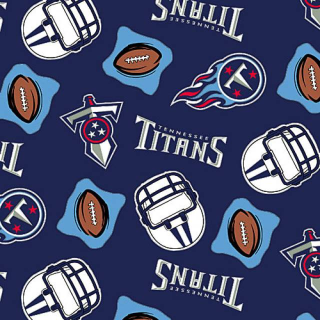 Tennessee Titans NFL Fleece Fabric