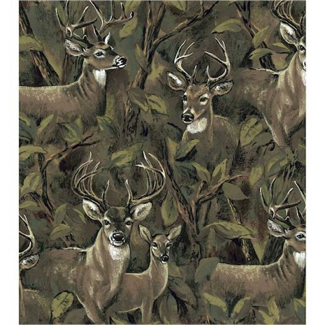 Deer In The Forest Fleece