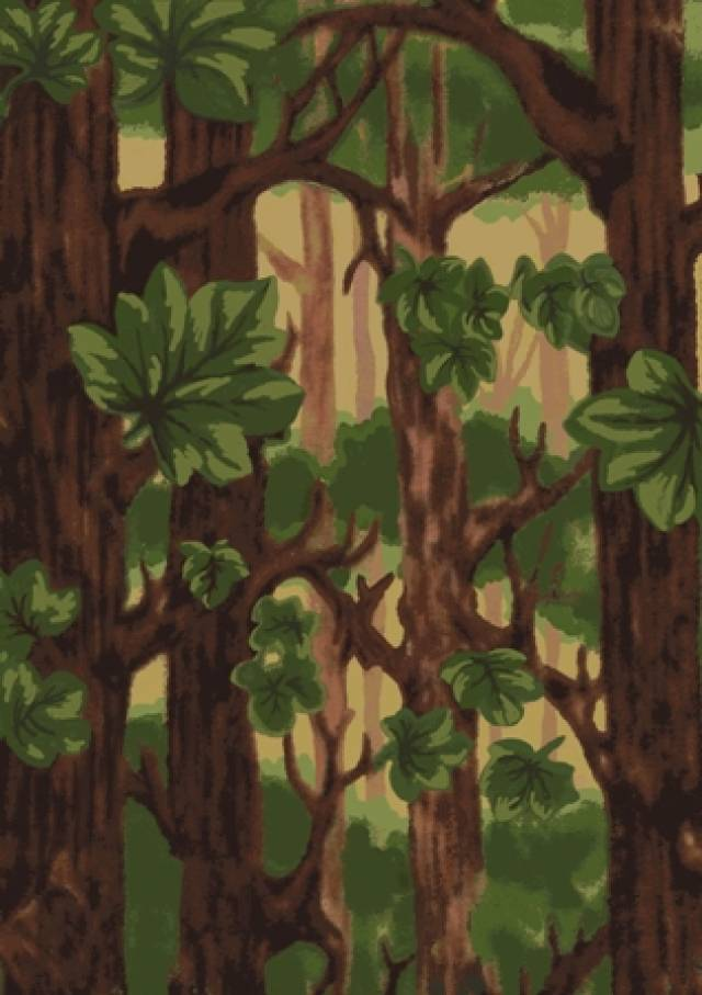 Norwegian Woods Fleece Fabric