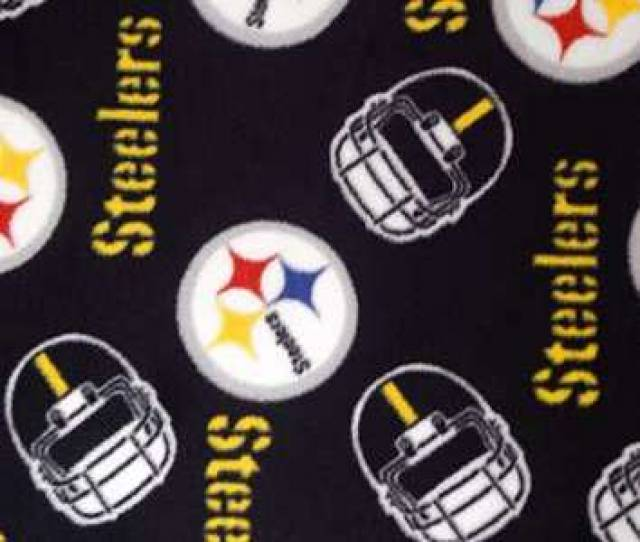 Pittsburgh Steelers Allover NFL Fleece Fabric