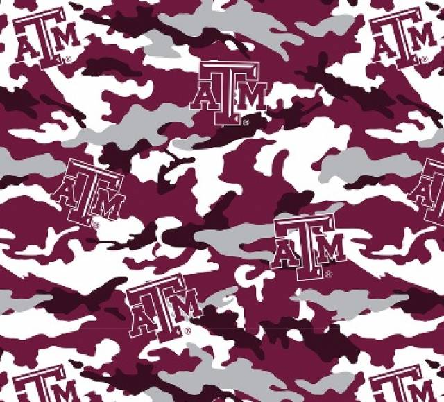 University of Texas A&M Aggies Camouflage Fleece