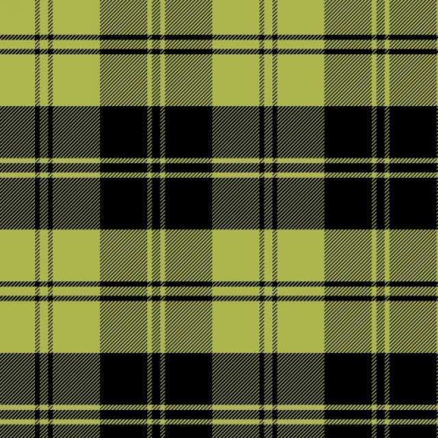 Classic Plaids Chartreuse Fleece Fabric