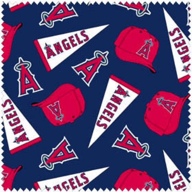 MLB Los Angeles Angels of Anaheim Allovers Fleece