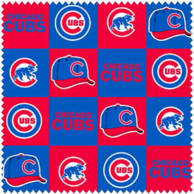 MLB Chicago Cubs Blocks Fleece
