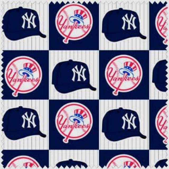 MLB New York Yankees Blocks Fleece
