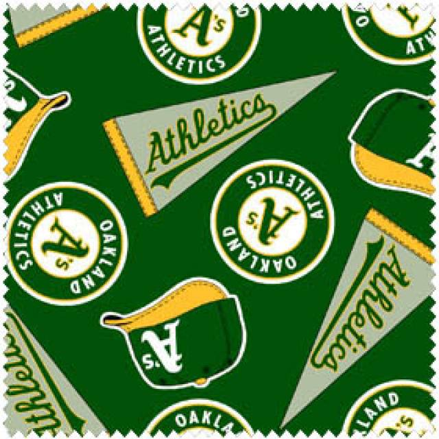 MLB Oakland Athletics Fleece