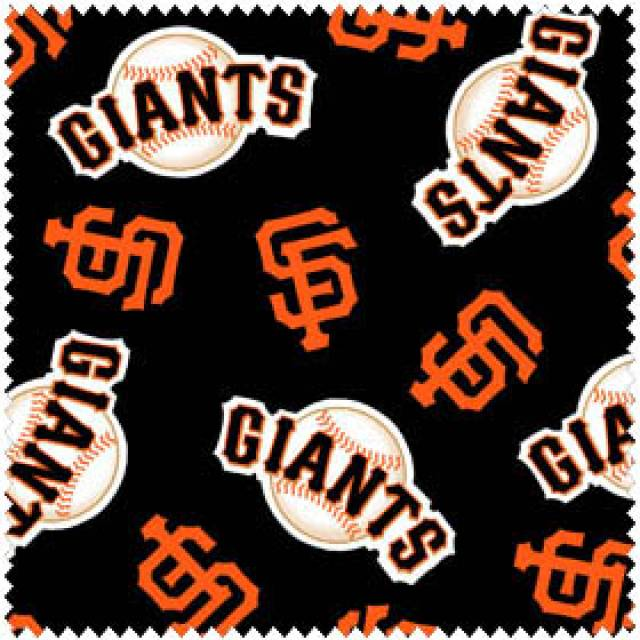 MLB San Francisco Giants Allovers Fleece