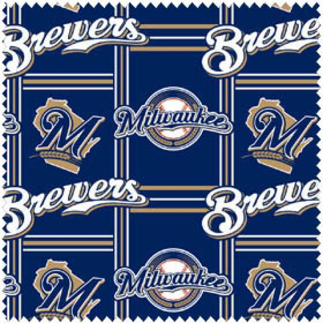 MLB Milwaukee Brewers Fleece