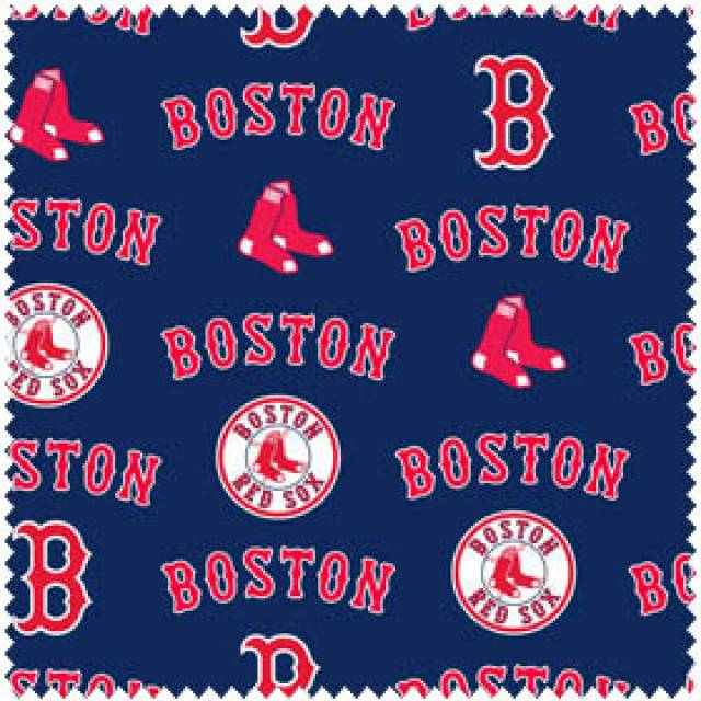 MLB Boston Red Sox Navy Allovers Fleece