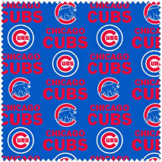 MLB Chicago Cubs Allovers Fleece