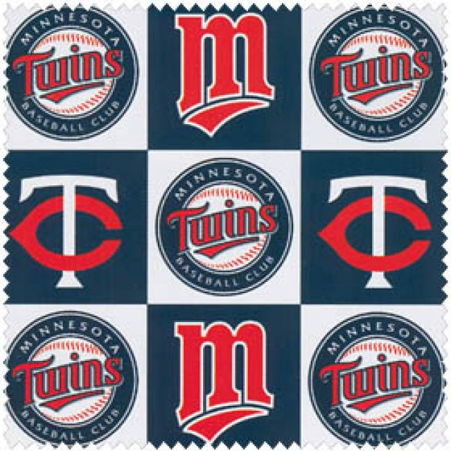 MLB Minnesota Twins Blocks Fleece