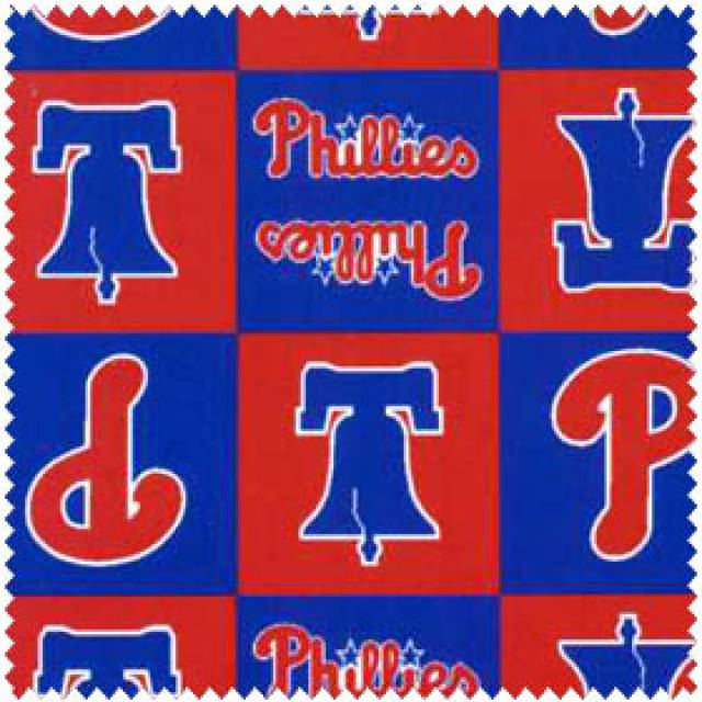 MLB Philadelphia Phillies Blocks Fleece