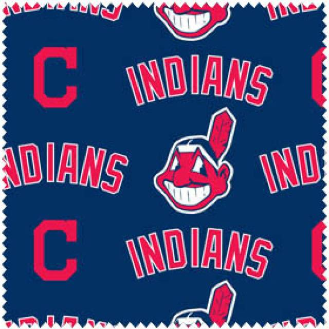 MLB Cleveland Indians Allover Fleece