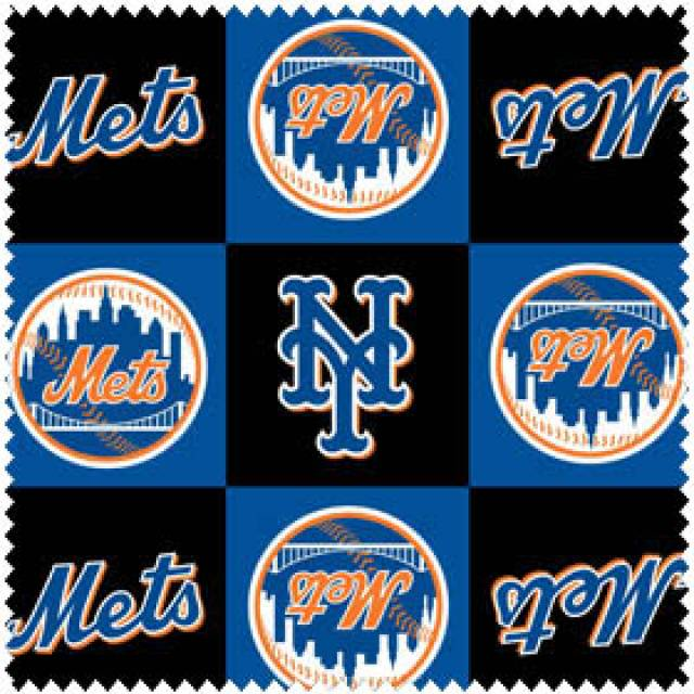 MLB New York Mets Blocks Fleece