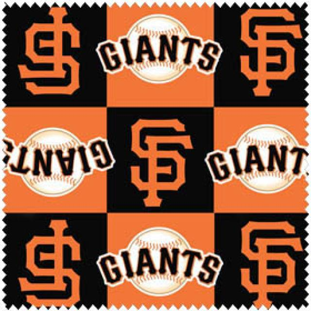 MLB San Francisco Giants Blocks Fleece