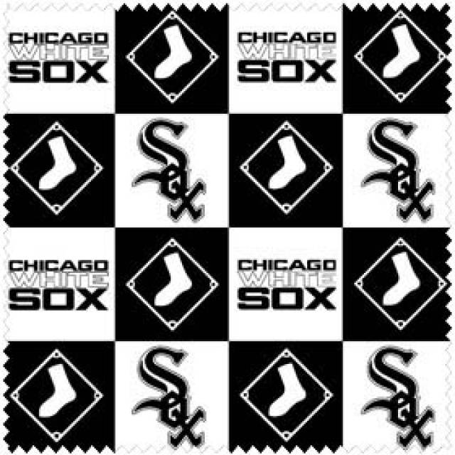 MLB Chicago White Sox Plaids Fleece