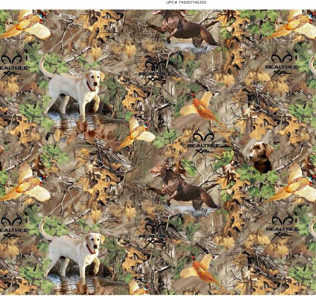RealTree Dog & Pheasant Fleece