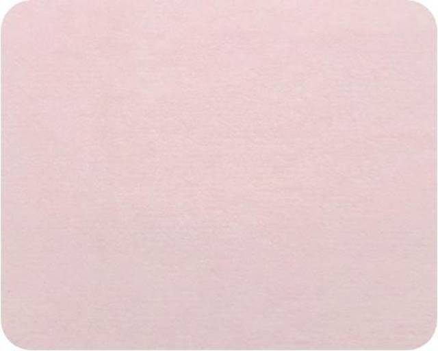 Baby Pink Plush Fleece Fabric