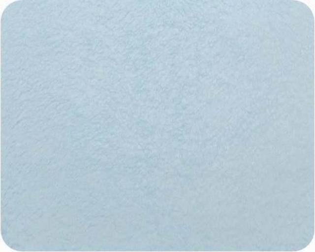 Baby Blue Plush Fleece Fabric