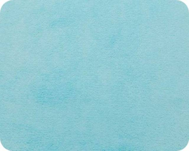 Turquoise Plush Fleece Fabric