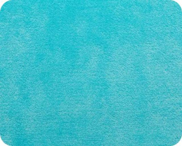 Dark Turquoise Plush Fleece Fabric