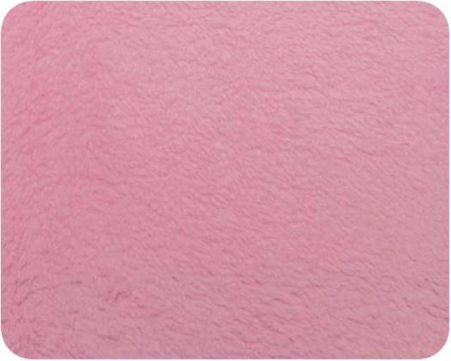 Hot Pink Plush Fleece Fabric